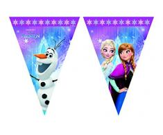 Disney 46788 Frozen Party Dekoration Banner Happy Birthday