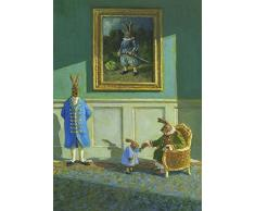 Postkarte A6 • 15097 Opa Hase von Inkognito • Künstler: Michael Sowa • Ostern