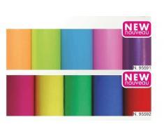 Clairefontaine Geschenkfolie farbig transparent,30er Display