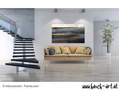 Acryl Gemälde auf Leinwand/ abstrakt/ 100x140cm/ Toskana Acrylbild moderne Kunst/ handgemalt/ Originalbild