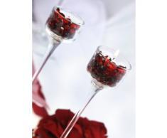 SiDeSo® Dekosteine rot 12mm Diamanten 100 Stück Acryl Tischdeko Hochzeit