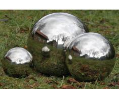 Kugel Edelstahl, Outdoor geeignet, Farbe: silber, Durchmesser 27 cm Dekokugel