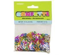 Streuschmuck/Konfetti 50 mit kleinen Sternen