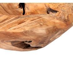 Trendy-Home24 20008 Schale Colombo Wurzel Teakholz natur, durchmesser circa 50 cm, Dekoration Holzschale