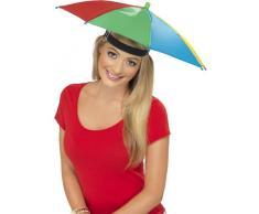 Schirmhut Mini Regenschirm Scherzartikel Sonnenschirm M�tze