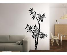 Grandora W131 Wandtattoo Bambus Baum grün (BxH) 95 x 180 cm