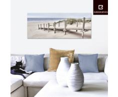 Eurographics DG-DT7025 Deco Glass, Glasbild, Way To The East Coast 50 x 125 cm