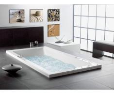 Visario Leinwandbilder 6902 Bilder 4-er Set auf Leinwand Spa Sand, 4 x 20 x 20 cm