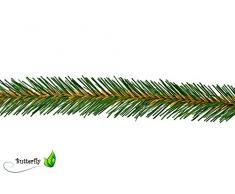 3m Bastel - Tannengirlande 3cm grün Floristik Tannenkette Weihnachtsgirlande Bastelgirlande Weihanchten Advent Karneval Deko Girlande