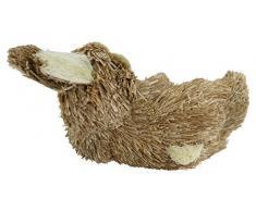 Deko Hase aus Stroh (D) Hase liegend 1 Stück