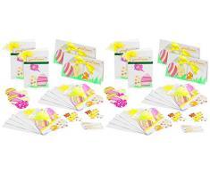 Your Design Dekorationen für Ostern: Osterkarten-Bastelset für 20 Karten mit Umschlag (Ostern-Grußkarten)