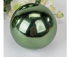 Formano Kugel grün Edelstahlkugel Deko-Kugel Edelstahl Dekokugel 631572 10cm