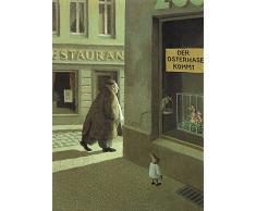 Postkarte A6 • 5534 Der Osterhase kommt von Inkognito • Künstler: Michael Sowa • Ostern