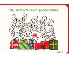 Weihnachtskarte für jemand Besonderes
