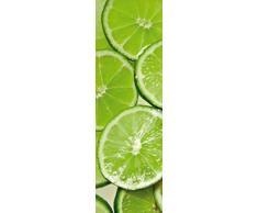 1art1 73656 Kochkunst - Limonen, Limetten, 1-Teilig Fototapete Poster-Tapete 250 x 79 cm