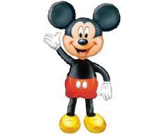 Anagram 0831801 - Party und Dekoration - Folienballon Air Walker - Disney Mickey Mouse, circa 96 x 132 cm