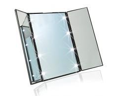 Klappspiegel g nstige klappspiegel bei livingo kaufen - Spiegel 3 teilig klappbar ...