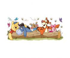 RoomMates RM - Disney Winnie Puuh & Freunde Freizeitspaß Wandtattoo, PVC, bunt 48 x 13 x 2.5 cm