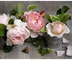 1art1 45103 Blumen - Drei Rosen, Catherine Beyler Poster Kunstdruck 30 x 24 cm