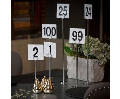 Halter für Tischkarten - 30 cm - 12 Stück