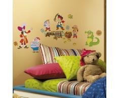 RoomMates RMK1778SCS RM - Disney Jake und Die Piraten Wandtattoo, PVC, Bunt, 29 x 13 x 2.5 cm