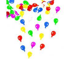 Oblique Unique Konfetti Ballons Tischkonfetti Geburtstag Feier