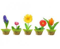 Fenstersticker Frühlingsblumen B x H: 40cm x 15cm von Klebefieber®