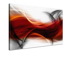 Lana KK - Empfindung RS - edel Leinwand Bild Kunstdruck auf Keilrahmen, fertig gerahmt in 100 x 70 cm, einteilig