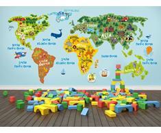 Wandtattoo Weltkarte Gunstige Wandtattoos Weltkarte Bei Livingo Kaufen