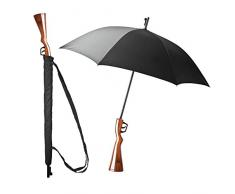 Regenschirm Gewehr Flinte Scherzartikel für Jäger Schirmflinte 103cm