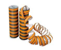 Halloween Luftschlange schwarz/orange