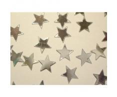 Streuschmuck/Konfetti Sterne Silber