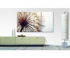 WandbilderXXL® Gedrucktes Leinwandbild Big Dandelion 180x100cm - in 6 verschiedenen Größen. Fertig gespannt auf Holzkeilrahmen. Günstige Leinwanddrucke für Kinderzimmer Schlafzimmer.