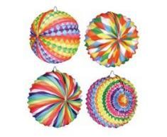 BOLAND 30421 Latene Ballonform Sommerfest Dekoration, verschiedene Modelle