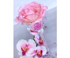 SiDeSo® Dekosteine rosa 12mm Diamanten 100 Stück Acryl Tischdeko Hochzeit