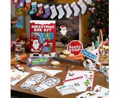 Neviti Christmas Craft Wimpelkette zum Ausmalen