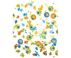 3x Tüten Konfetti * MINIONS * für den Kindergeburtstag (ca. 500 Teile) // 997970 // Kinder Geburtstag Kinderparty Party Teller Pappteller Despicable Me