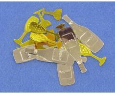 Generique Silvester-Tischkonfetti Neujahrs-Partydeko Gold 10g Einheitsgröße