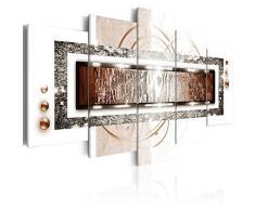 murando - Bilder 100x50 cm - Vlies Leinwandbild - 5 Teilig - Kunstdruck - modern - Wandbilder XXL - Wanddekoration - Design - Wand Bild - Abstrakt a-A-0003-b-p