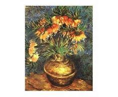 1art1 36122 Vincent Van Gogh - Blumen In Einer Vase Poster Kunstdruck 50 x 40 cm