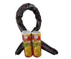 2pcs Überraschungs-Chips Dose mit Springschlange / Scherzartikel Chips Dose / Schlange in der Dose Geschenk