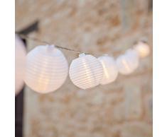20er Lampion LED Lichterkette warmweiß Innen- und Außenbereich