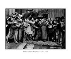 1art1 45444 Menschen - China 1949, Henri Cartier-Bresson Poster Kunstdruck 70 x 50 cm