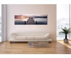 Bild auf Leinwand - Leinwandbilder - Einteilig - Breite: 160cm, Höhe: 50cm - Bildnummer 2635 - zum Aufhängen bereit - Bilder - Kunstdruck - AB160x50-2635