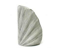 Blumenvase Keramikvase Tischvase Sidney S - 21cm (weiß)