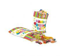Susy Card 40012353 Partytüten Happy Birthday, 6er Packung