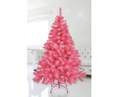 Weihnachtsbaum IN PINK 150 cm Christbaum/Tannenbaum AUS Kunststoff MIT STÄNDER