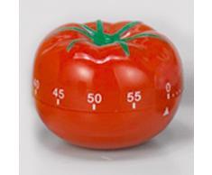 Kurzzeitmesser / Küchen Timer, Tomate, Kunststoff, rot