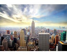 Vlies Fototapete New York 352x250 cm - 9005011a RUNA Top Tapete ! Wandbilder XXL Wandbild Bild Fototapeten Tapeten Wandtapete Wanddeko Wand