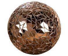 Deko-Kugel Brilliant, in Kupfer, aus Spiegelstücken, Ø 10 cm